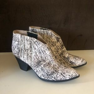 Splendid Addie Graphic Calf Hair Booties